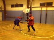 Full contact Doble Bastons sparring