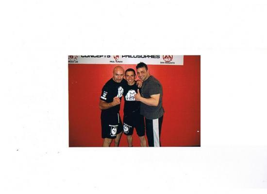 Sifu Robert Parmakovski, coach Michel Dolago et Stan the Man