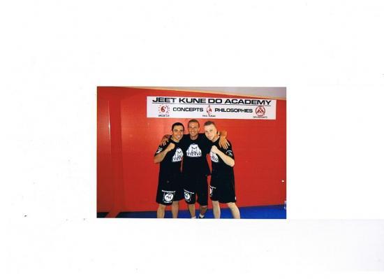 Coach Michel avec Julian et adrian(Instructeur apprentis)